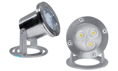 Spot led orientable immergeable lumihome spot led fontaine for Spot exterieur orientable